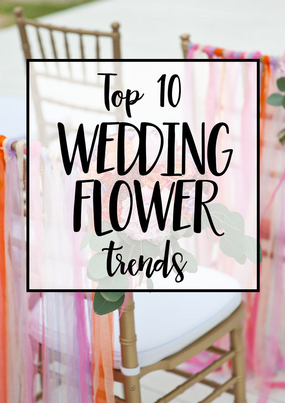 Wedding flower trends, by 29&September
