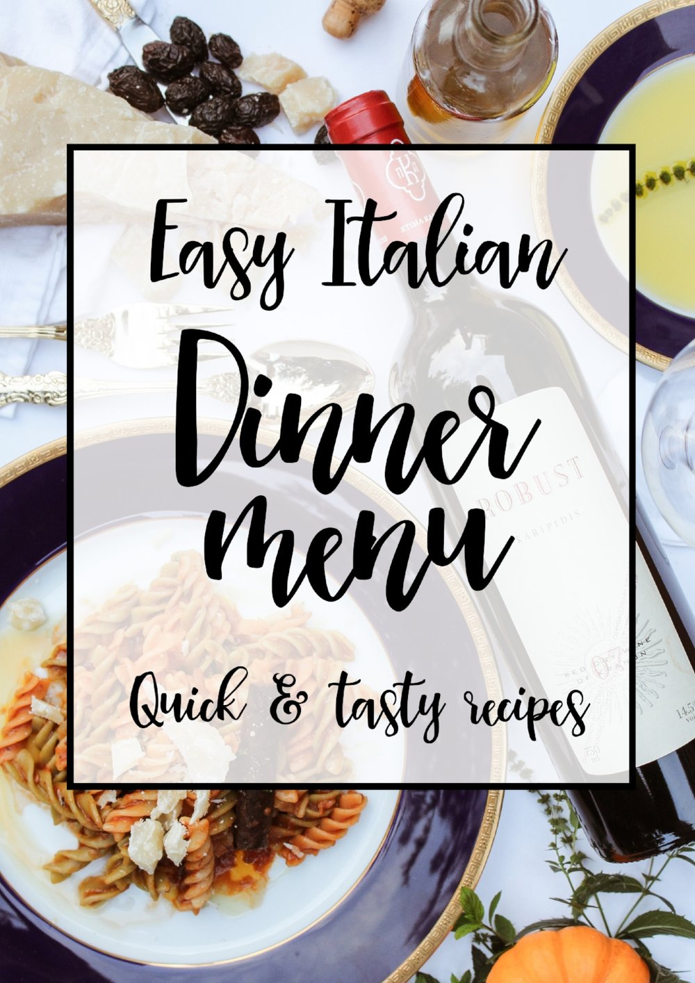 Easy Italian entertaining, 29&September