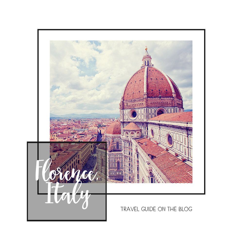 A guide to Florence, Italy