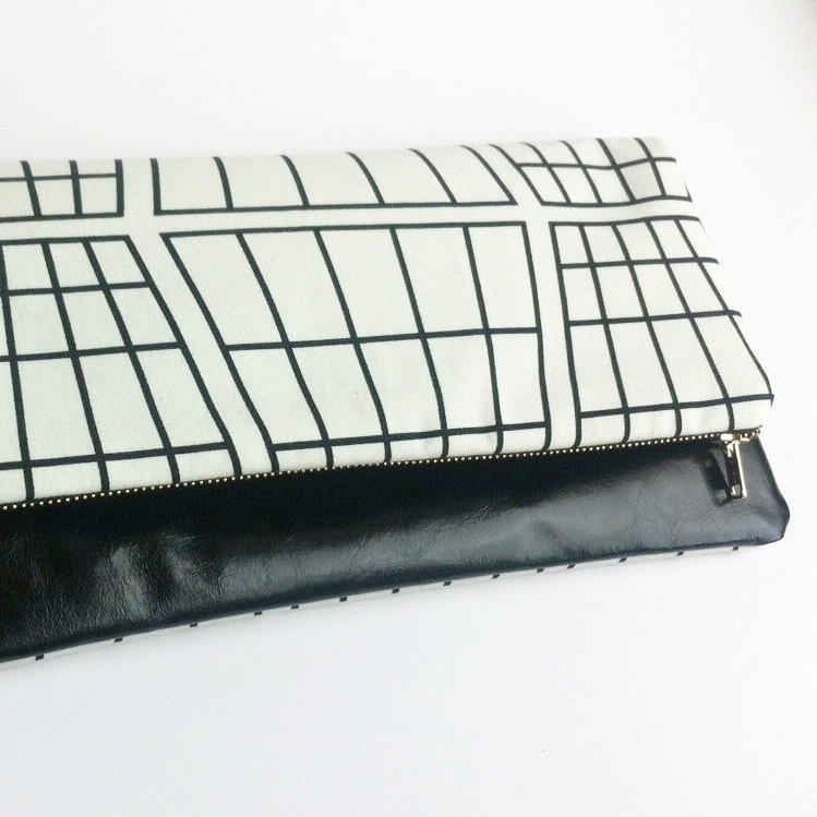 Leather clutch bag, 29&September