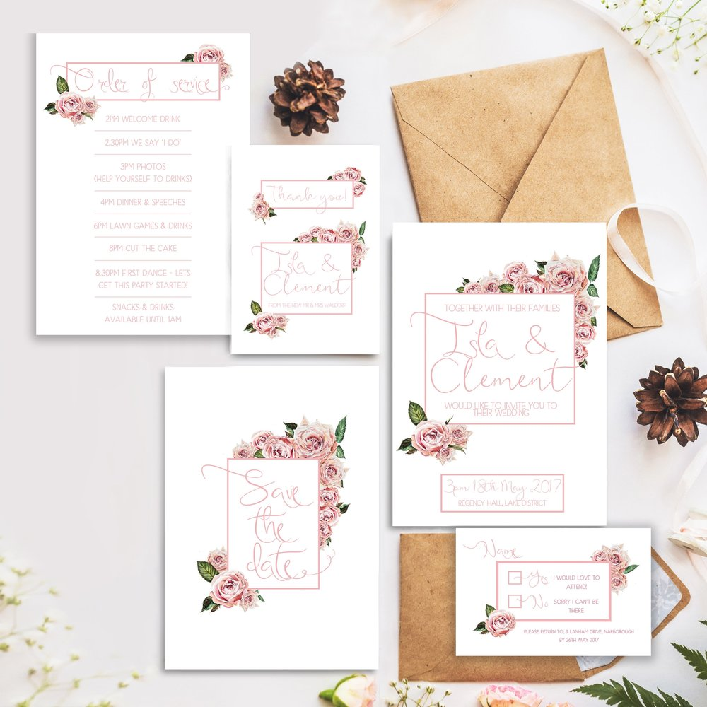 Rose Garden stationary suite, 29&September