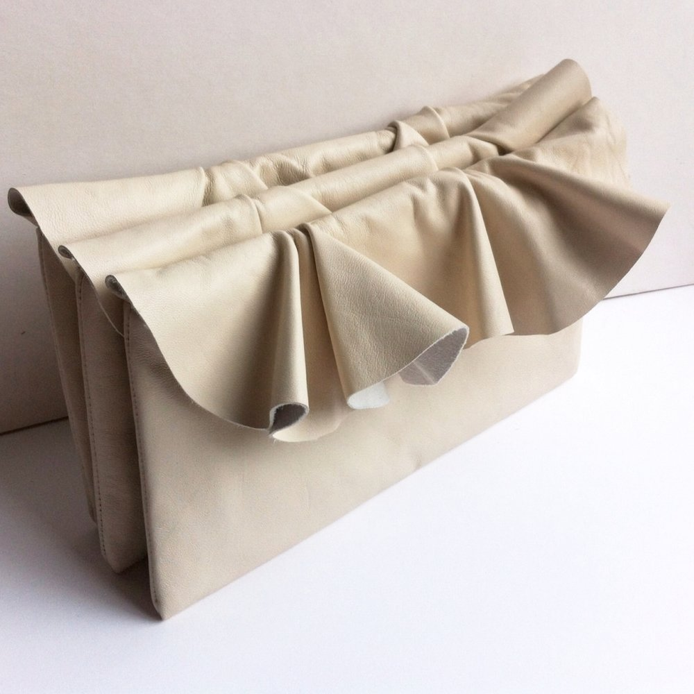 Ruffle clutch bag, 29&September