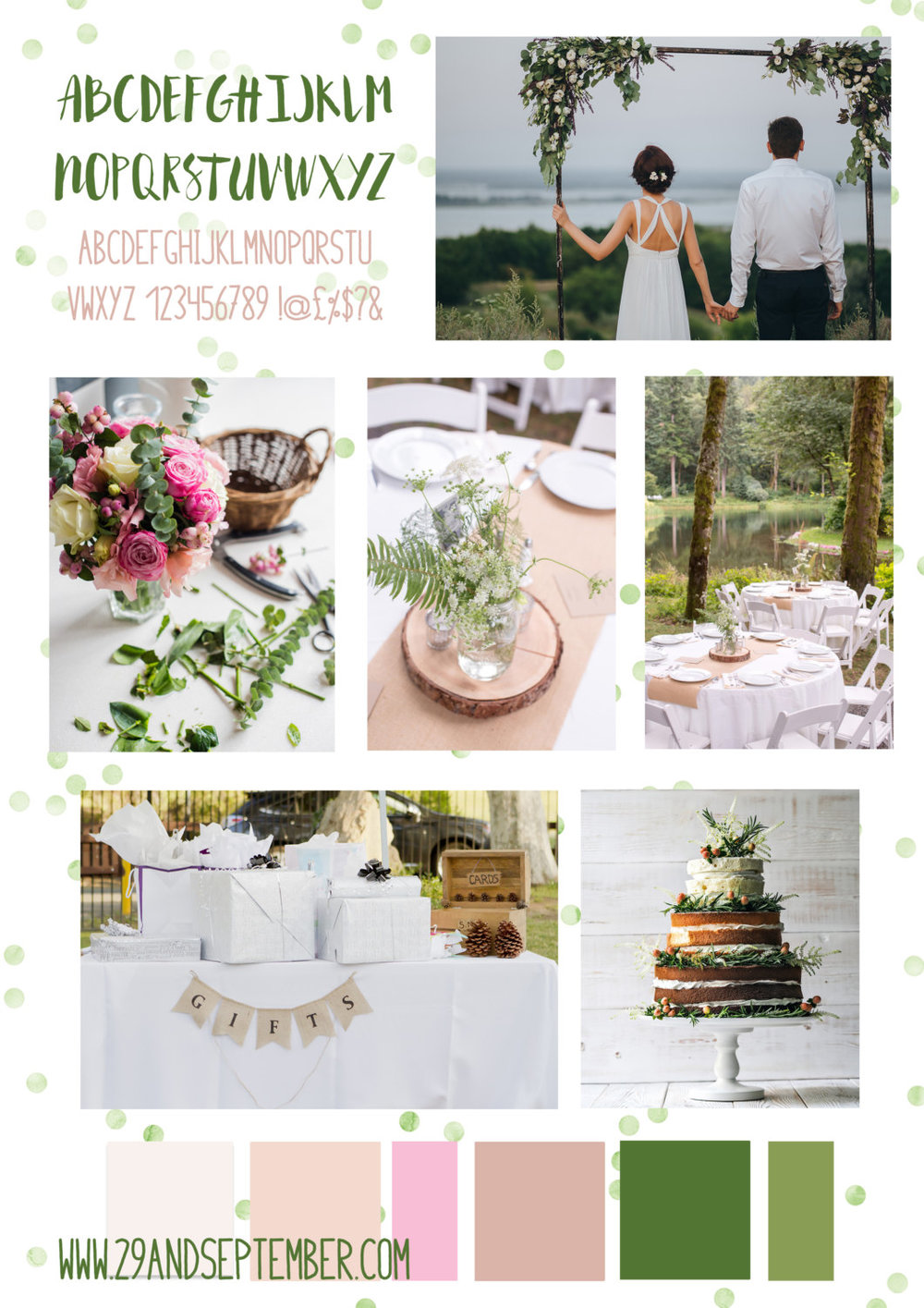 29&September wedding styling service