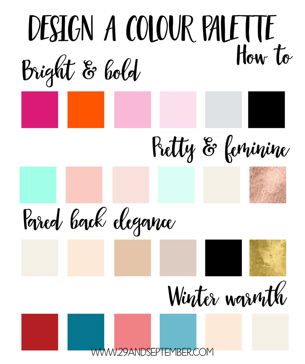How to design a colour palette, 29&September