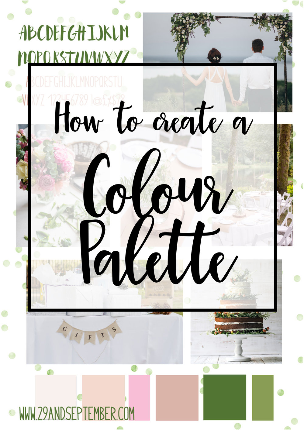 How to design & create a colour palette