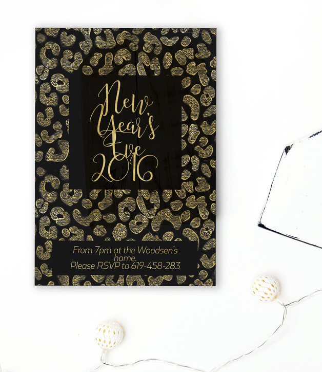 New Years Eve invite by 29andSeptember