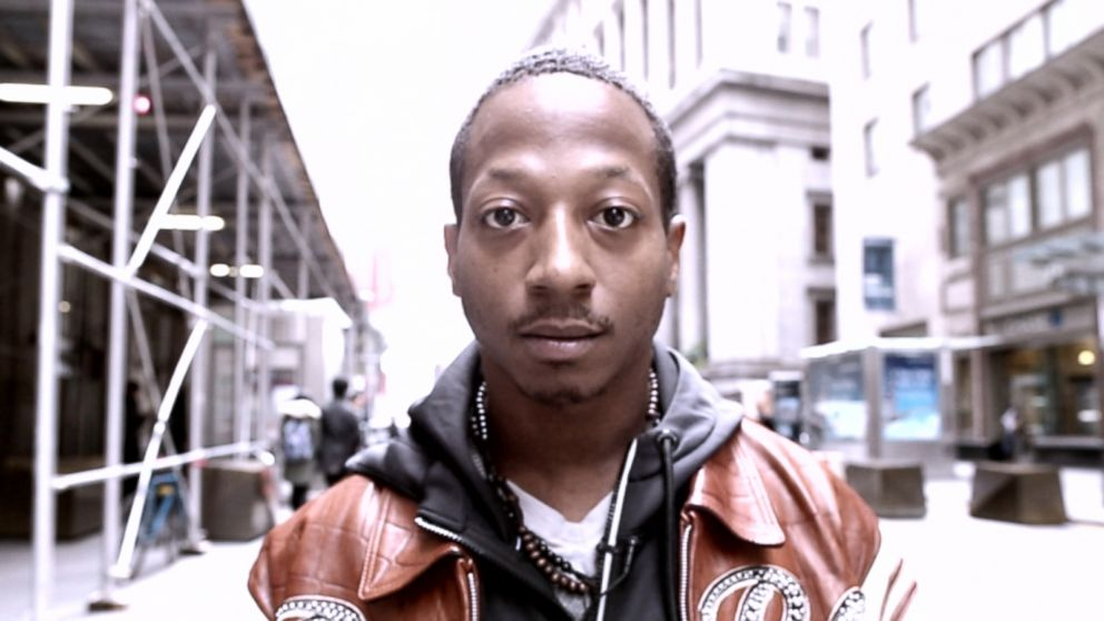 Kalief Browder during interview with ABC News.
