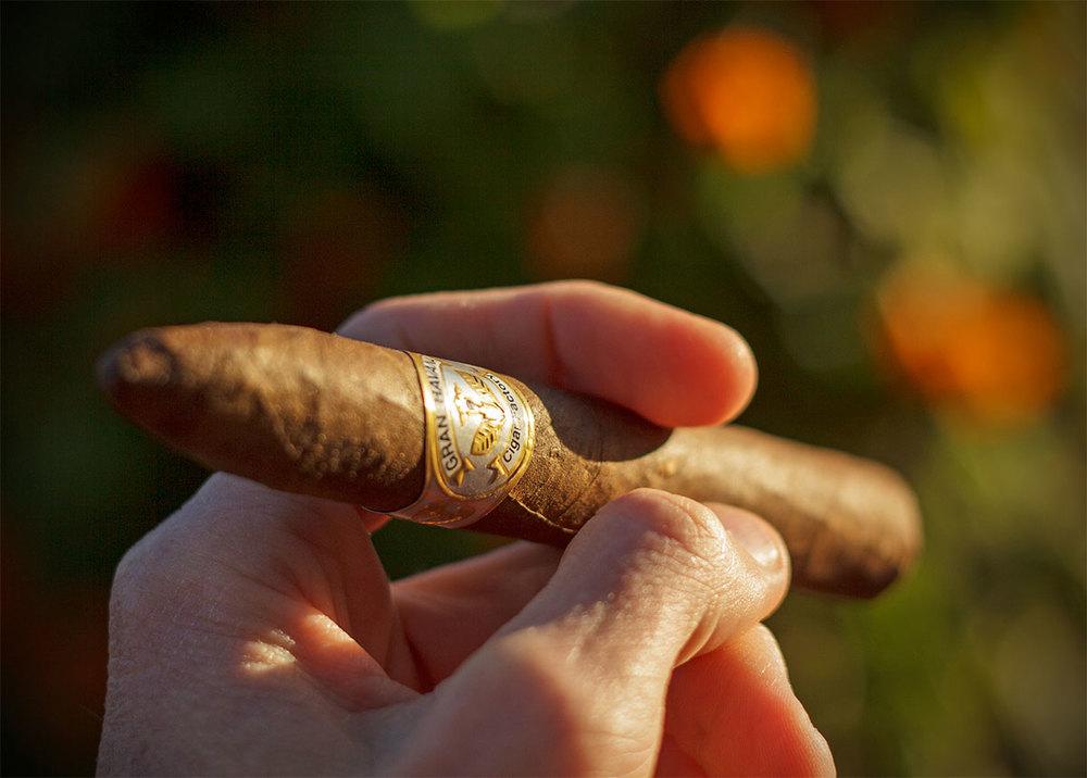 Cigar Torpedo Maduro Hand