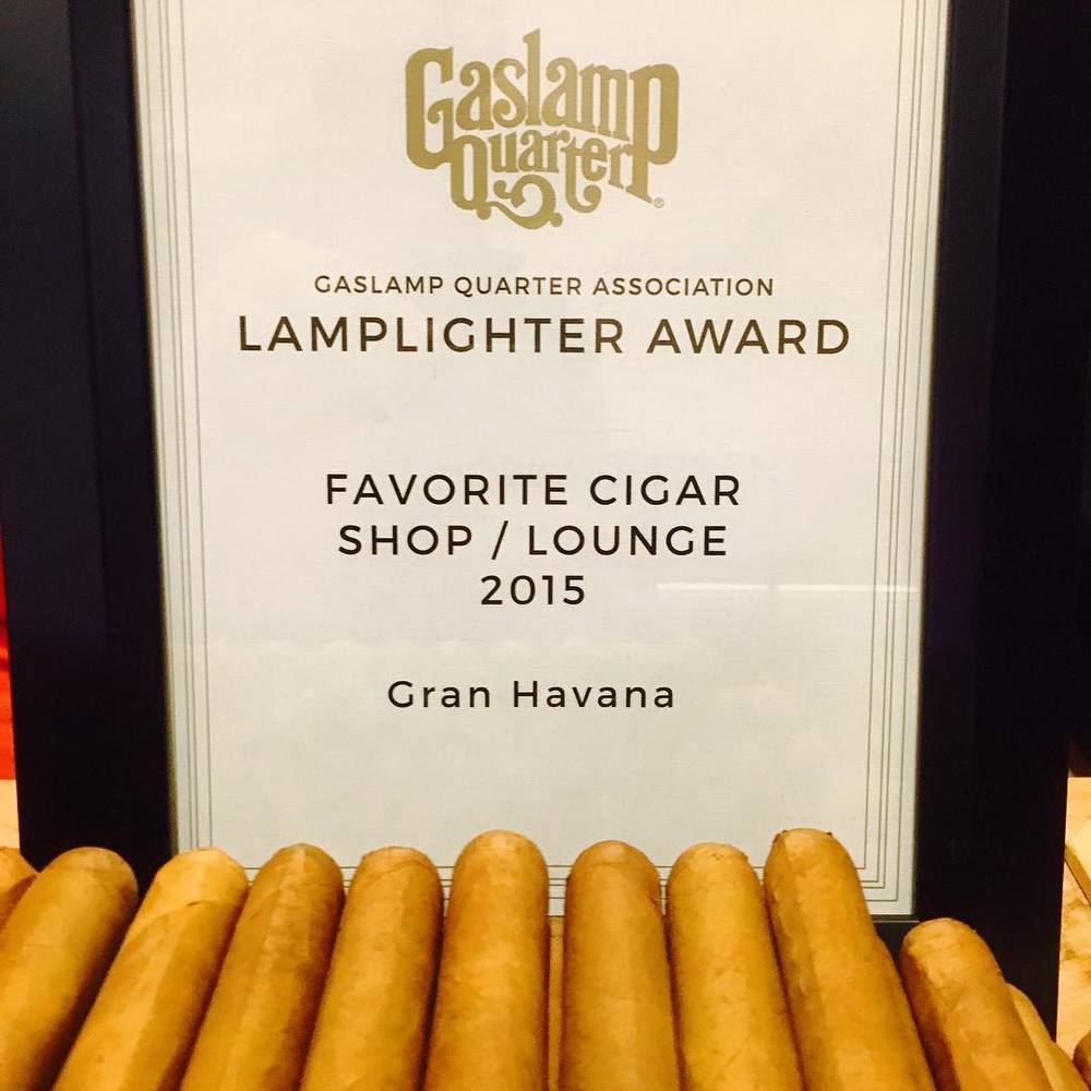 Gran Havana, Favorite Cigar Shop and Lounge 2015