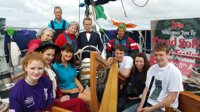 Yeats and Fleadh take to the high seas (Sligo Today, July 2015)