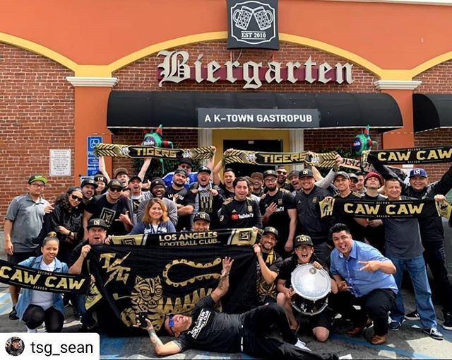 Thanks for coming! Successful LAFC watch party with TSG