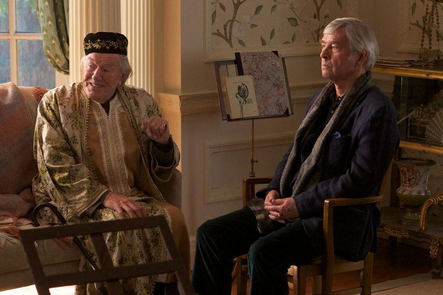 Michael Gambon & Tom Courtenay - Quartet