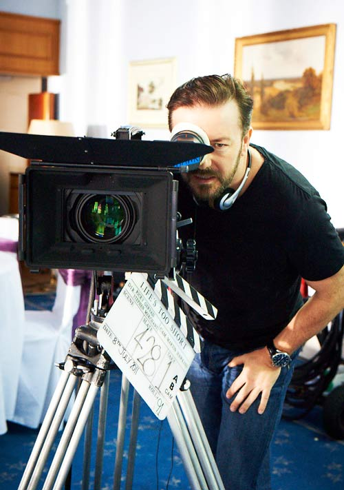 Ricky Gervais - Behind the Lens for Life's Too Short