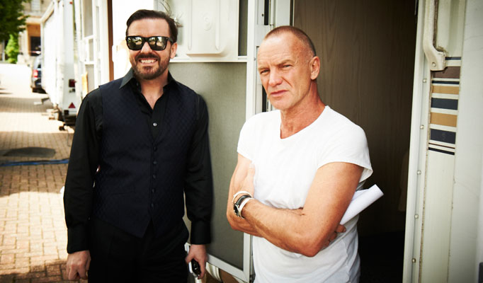 Ricky Gervais & Sting - Life's Too Short