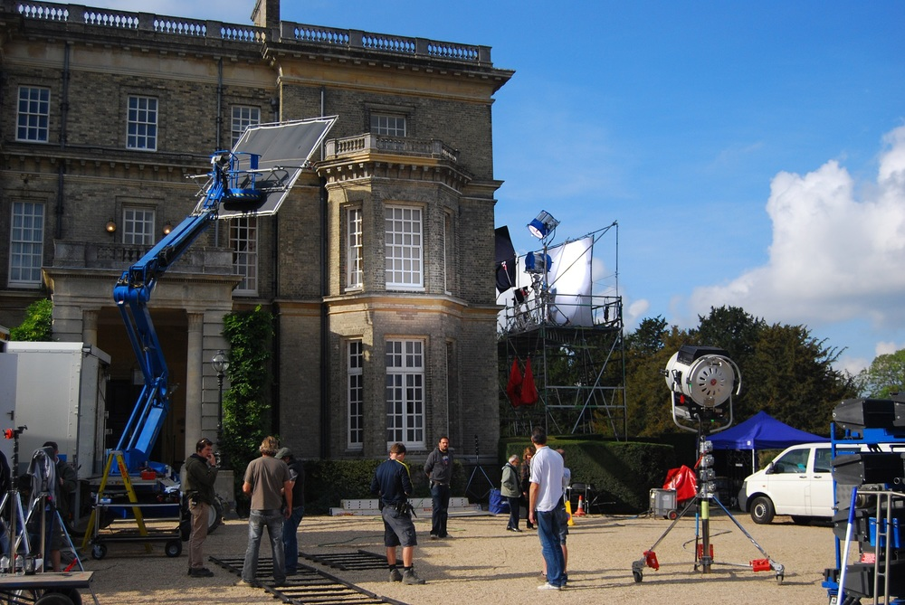 FILMING AT HEDSOR