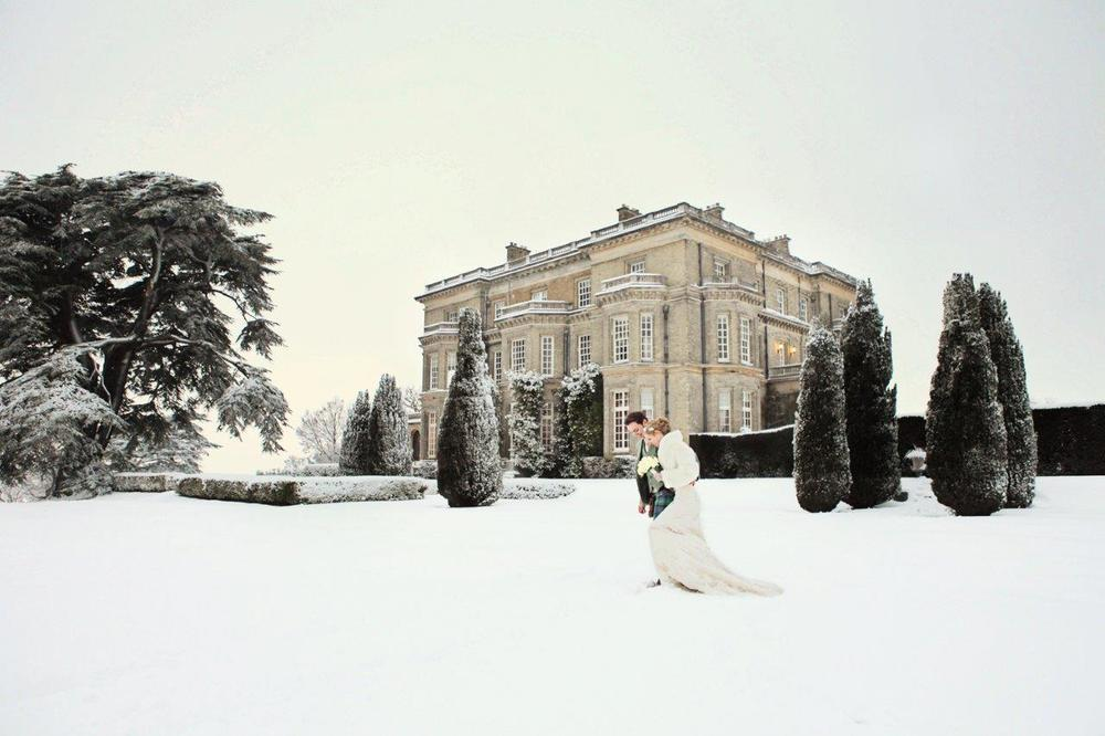 Hedsor is the dream for winter country house weddings near London