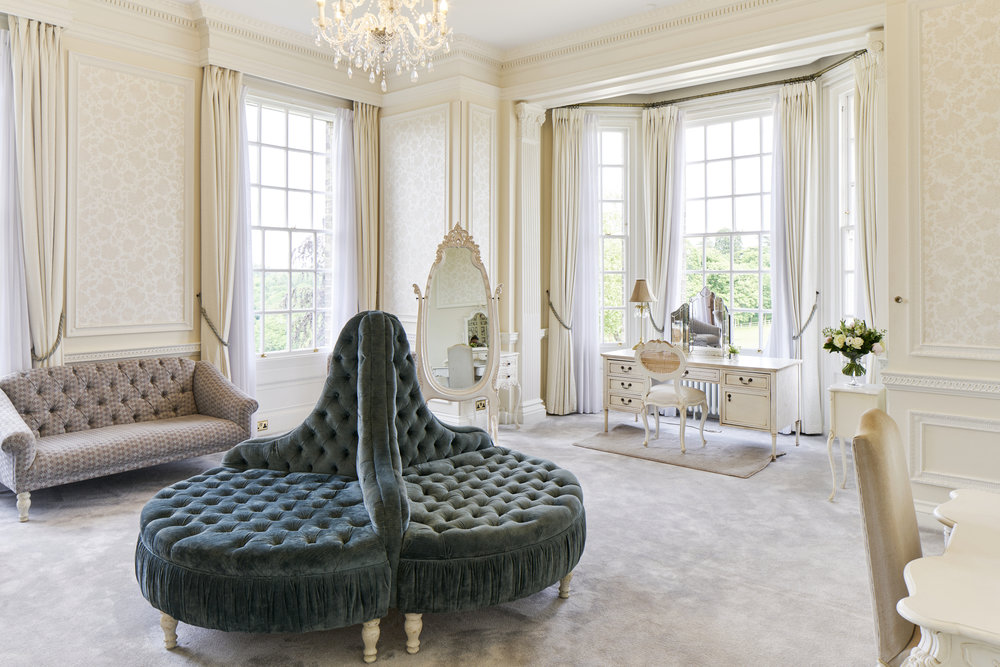 The Hedsor House Dressing Room provides incredible natural light - perfect for Meghan Markle's Bridal preparations - Photo Credit  Dominic James
