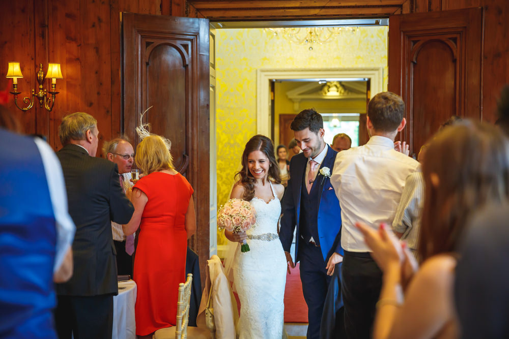 52. Entering the ballroom as Mr & Mrs Cadmore.JPG