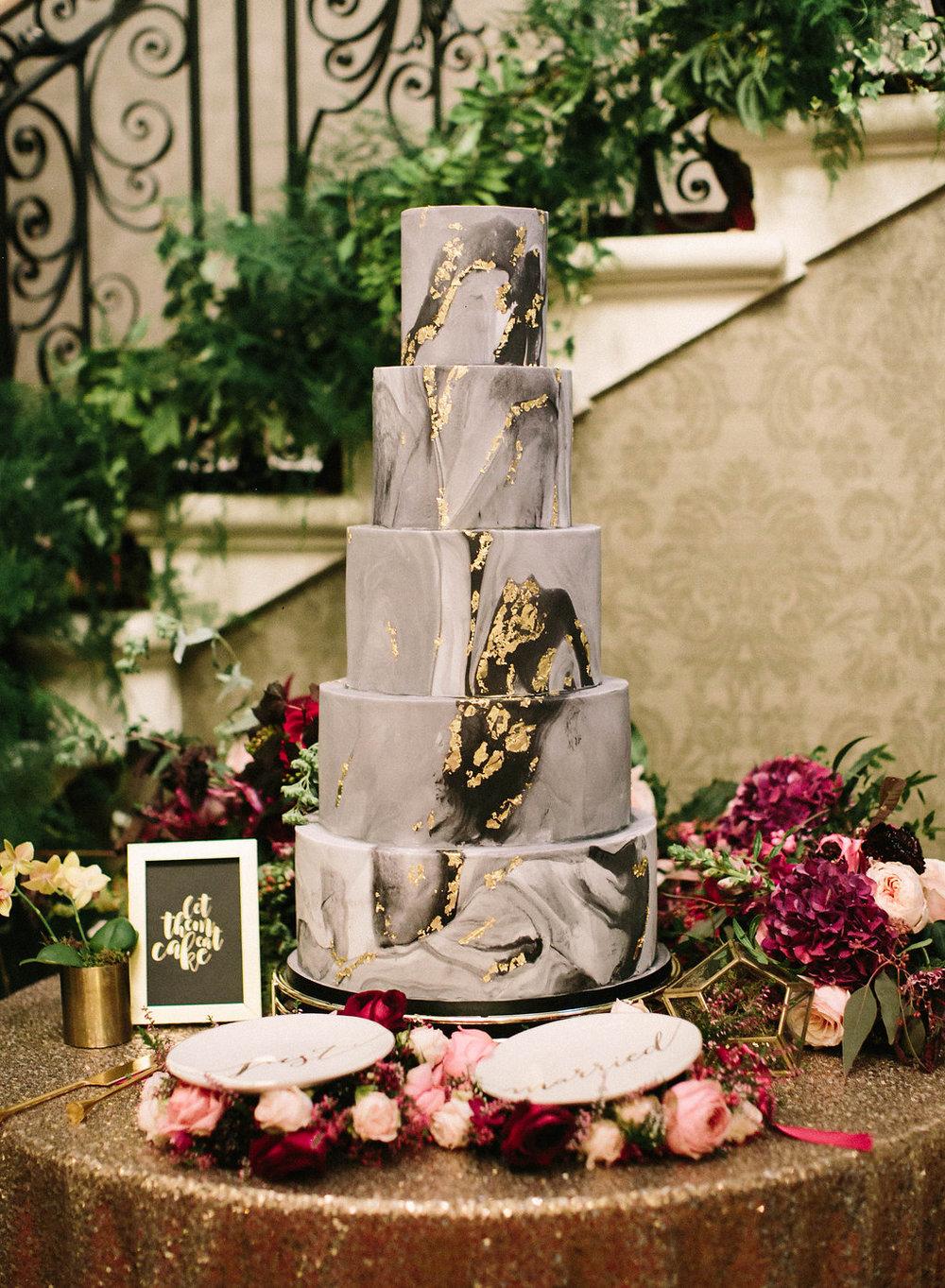 Cake by  Sugared Saffron .