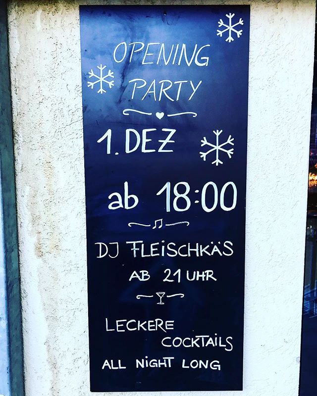 Ready to rumble! #winter2018 #winter2019 #opening #bar #arosa #welovearosa