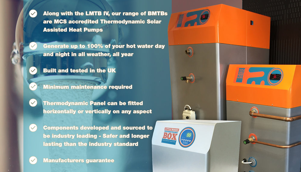 For further info please visit our page tcrenewables.com/solar-thermodynamic-panel