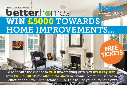 We are delighted to announce we are exhibiting at the Love Your Home Show, 10-11 October in the brand new Titanic Exhibition Centre, Belfast.  For our Facebook friends we are giving FREE tickets. Register for tickets here  https://iyh.ticketbud.com/2015?pc=TCRENEW