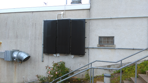 Solar thermodynamic panels