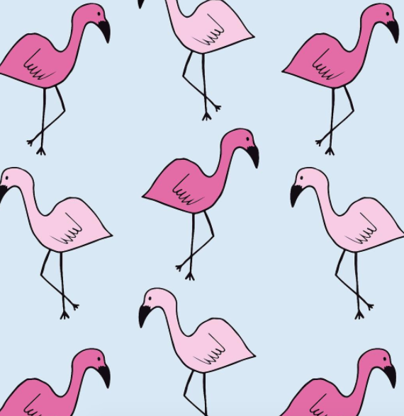 Illustration-Flamingo-Print