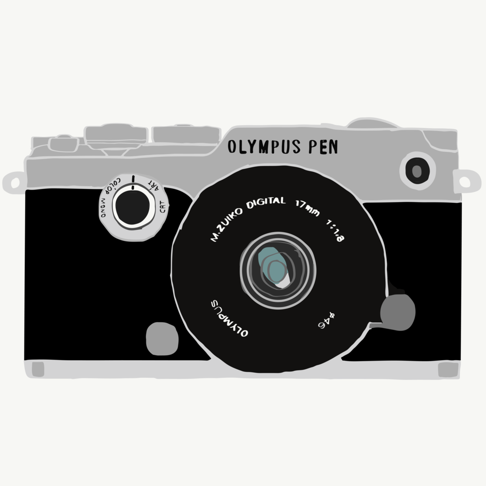 Olympus Pen Illustration