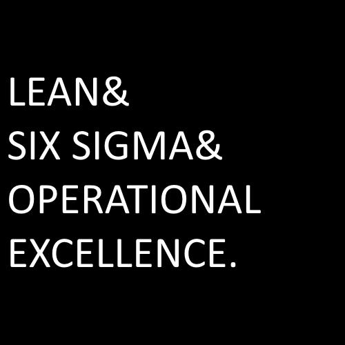 lean vs six sigma vs operational excellence eldon kao