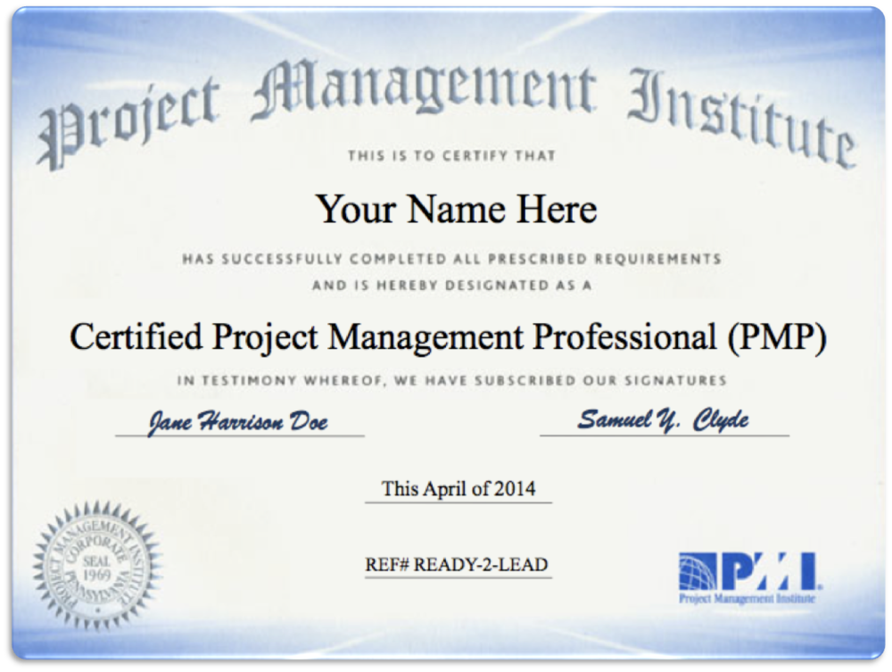 pmp and lean six sigma