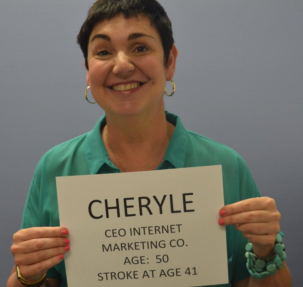 Cheryle Locke, stroke survivor