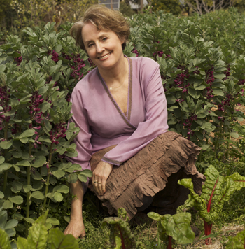 Alice Waters, Founder of the Edible Schoolyard Project  (photo credit: David Liittschwager)