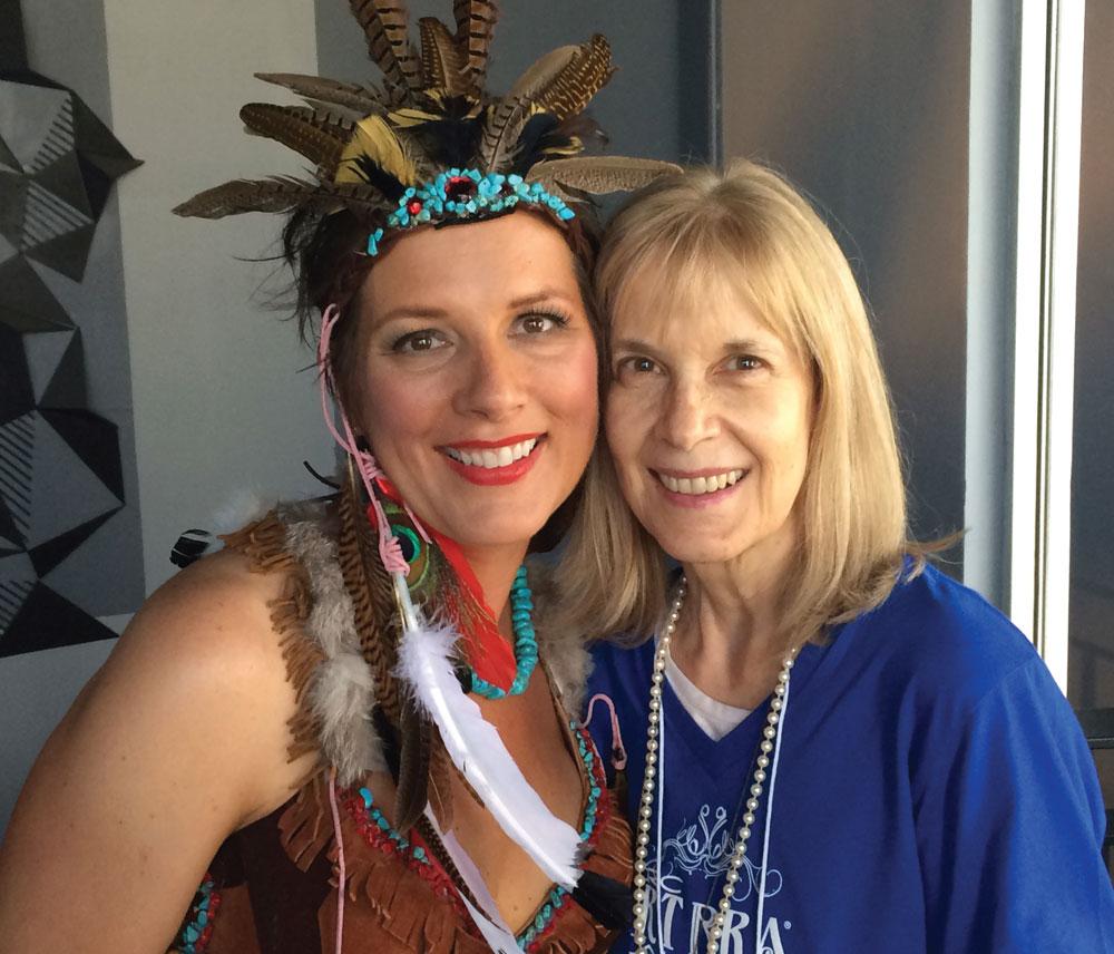 left to right: Shelly Bain and Geri Ruane  (photo courtesy of Geri Ruane)