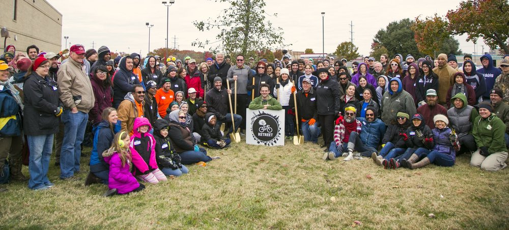 The Rowlett RETREET planting group