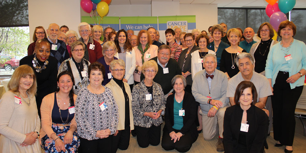 The recent Cancer Hope Network volunteer celebration