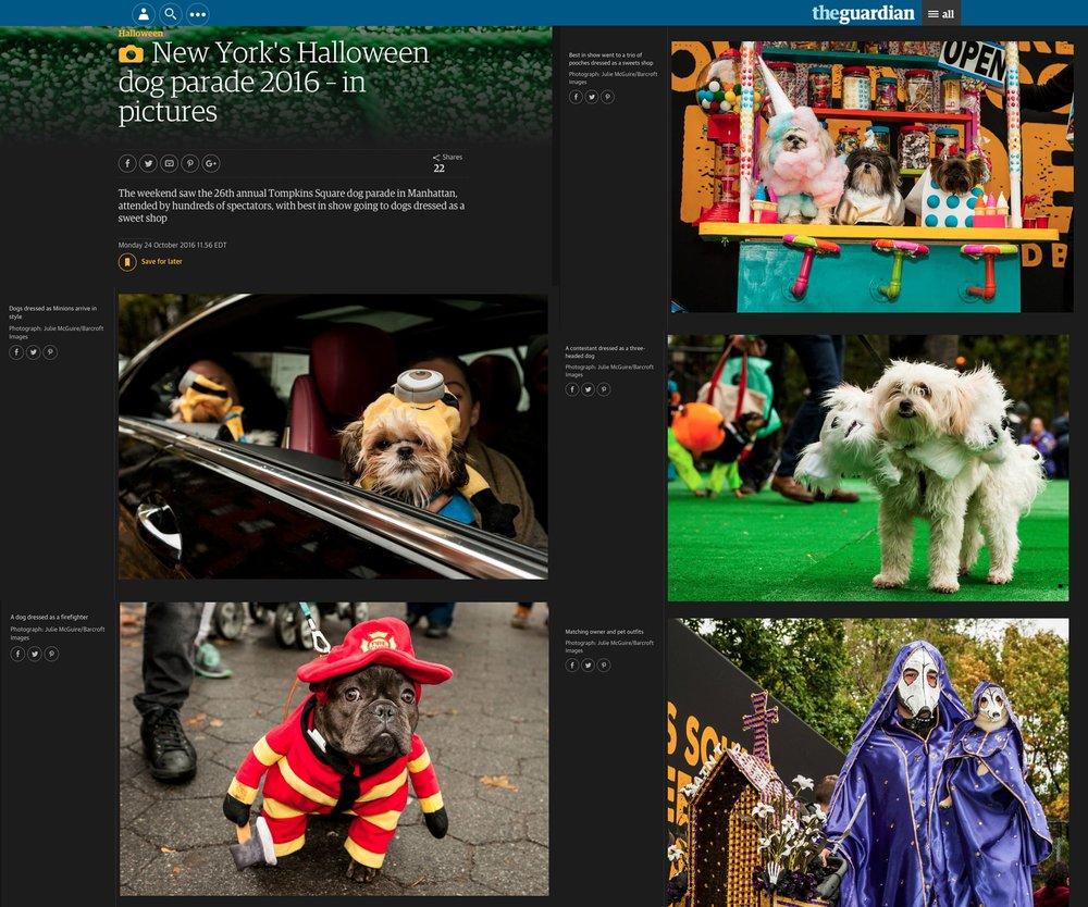 New York's Halloween Dog Parade