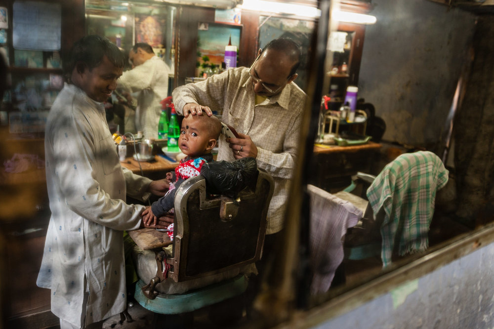 First Haircut: India