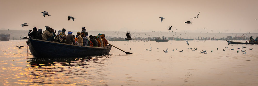 Ganges: Varanasi, Uttar Pradesh, India