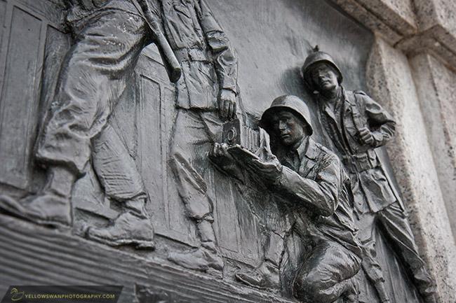 Washington dc national world war ii memorial relief