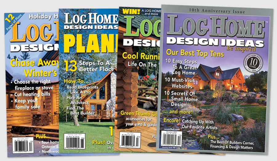 Log Home Design Ideas — Eric Burke Design