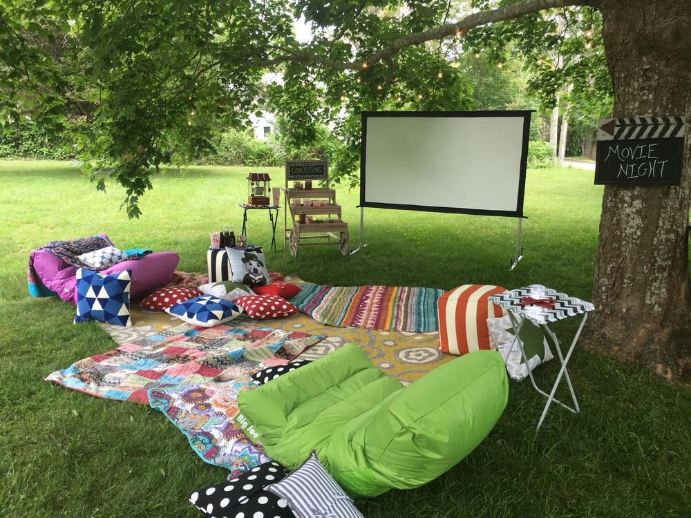 Backyard Movie Night — Peyton Lambton