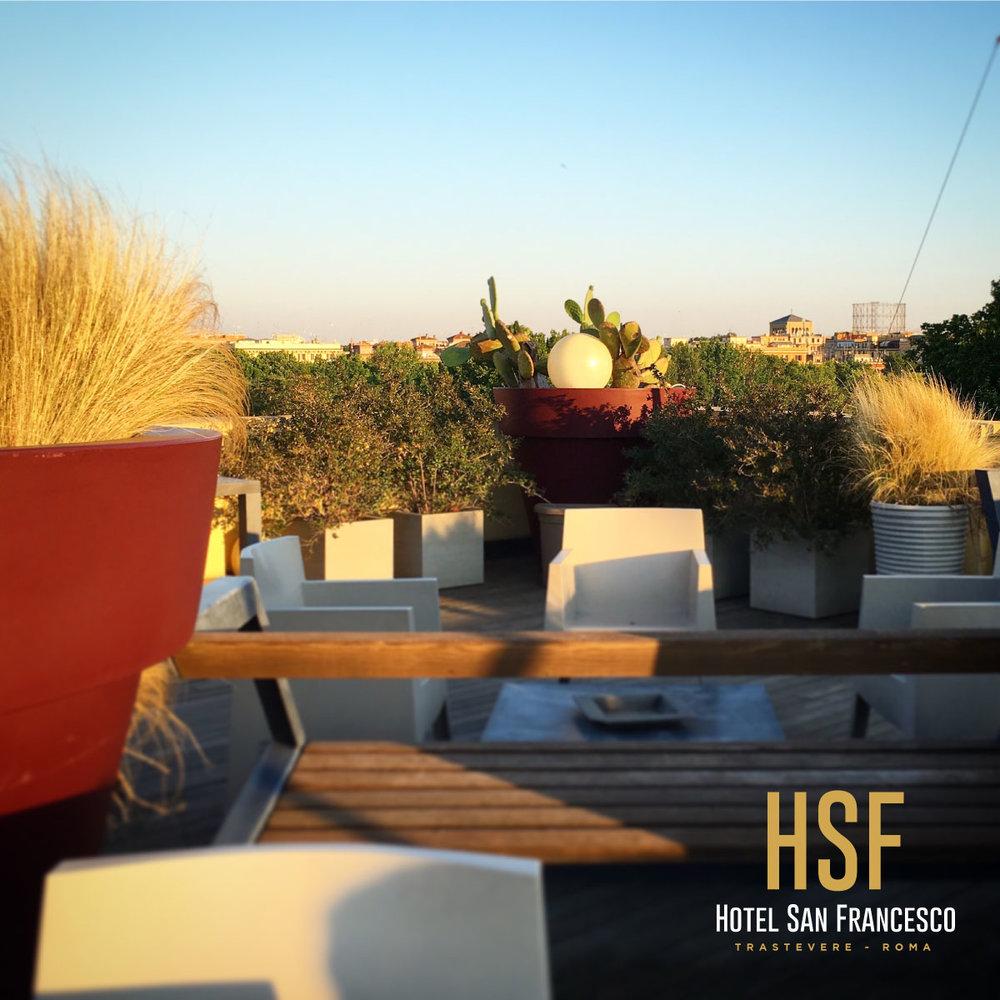 Rooftop Bar, Hotel San Francesco - Trastevere
