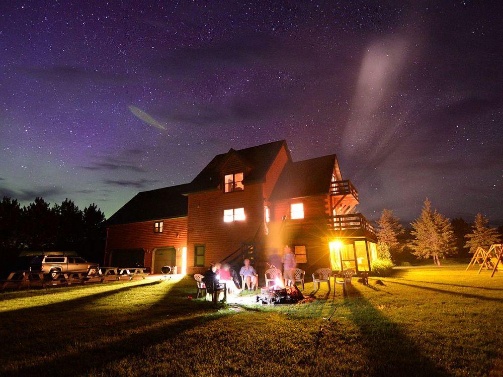 Enjoy bonfires under the stars