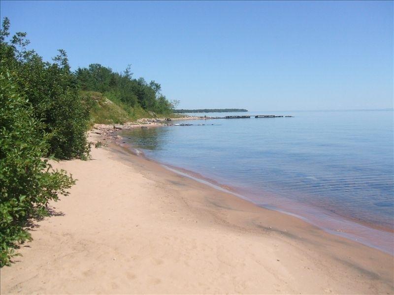 50 feet of beach