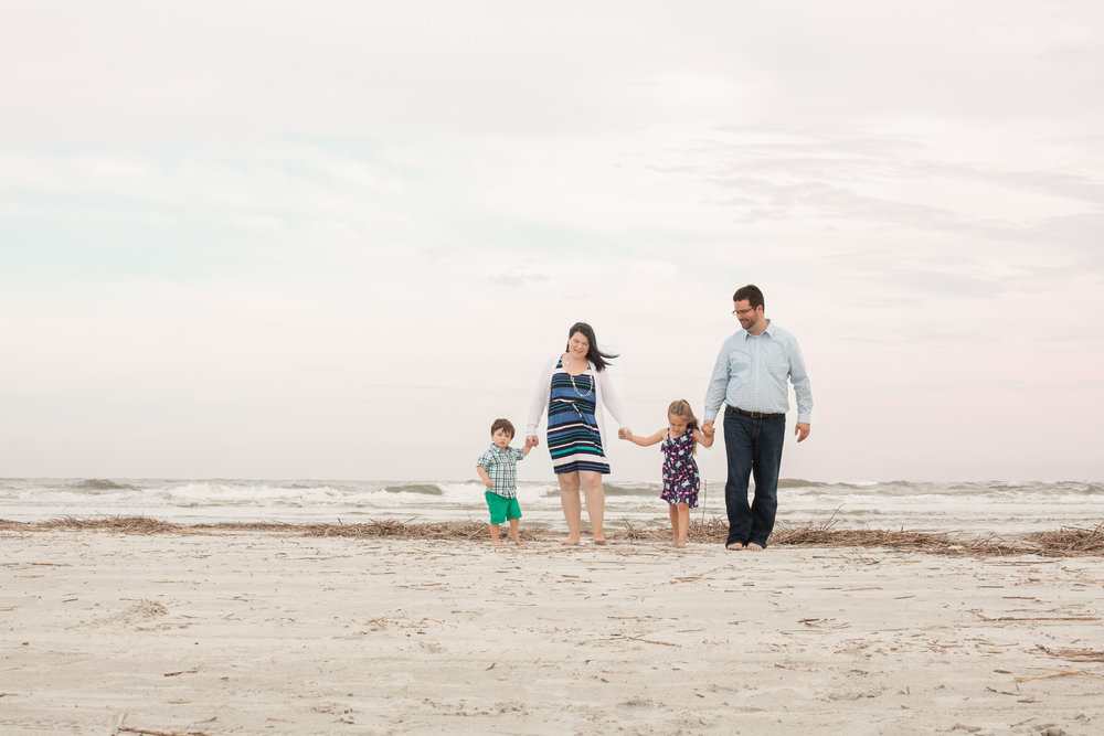 Tybee Island Family Session, laurie schultz photography