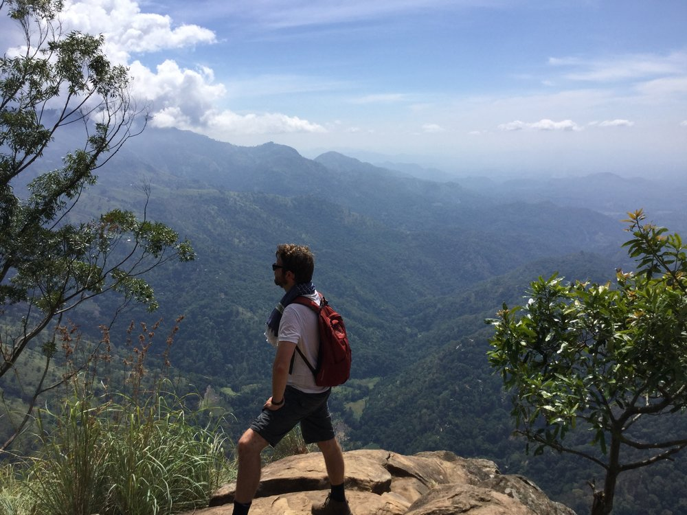 hiking, sri lanka