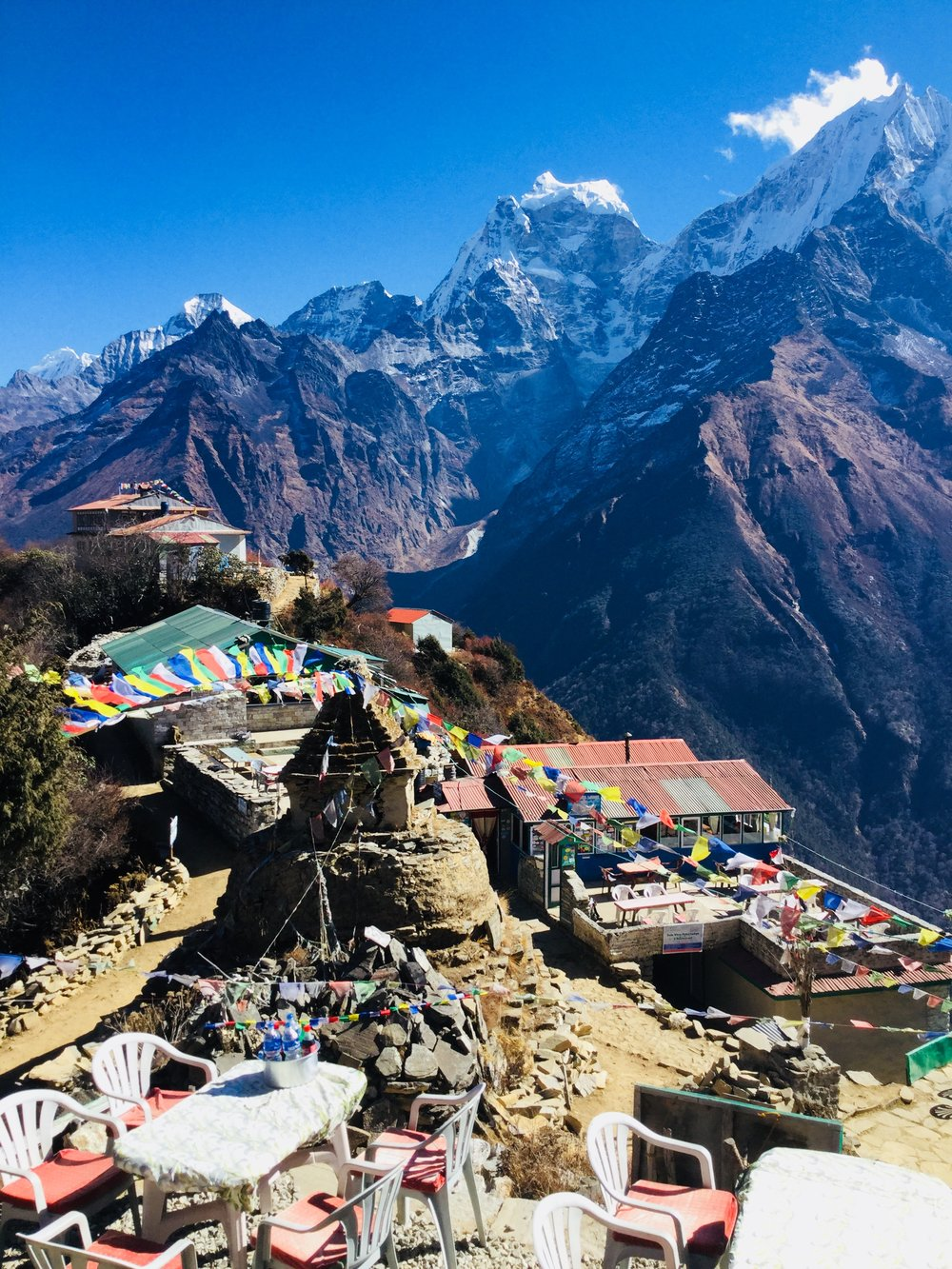 himalayas, everest base camp