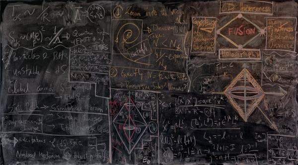 Quantum Physics Blackboard