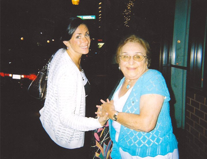 Grandma and me, Boston, 2006